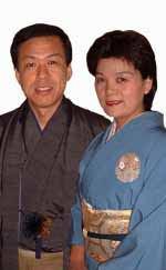 岩田呉服店 (京都 九条)店主夫婦です