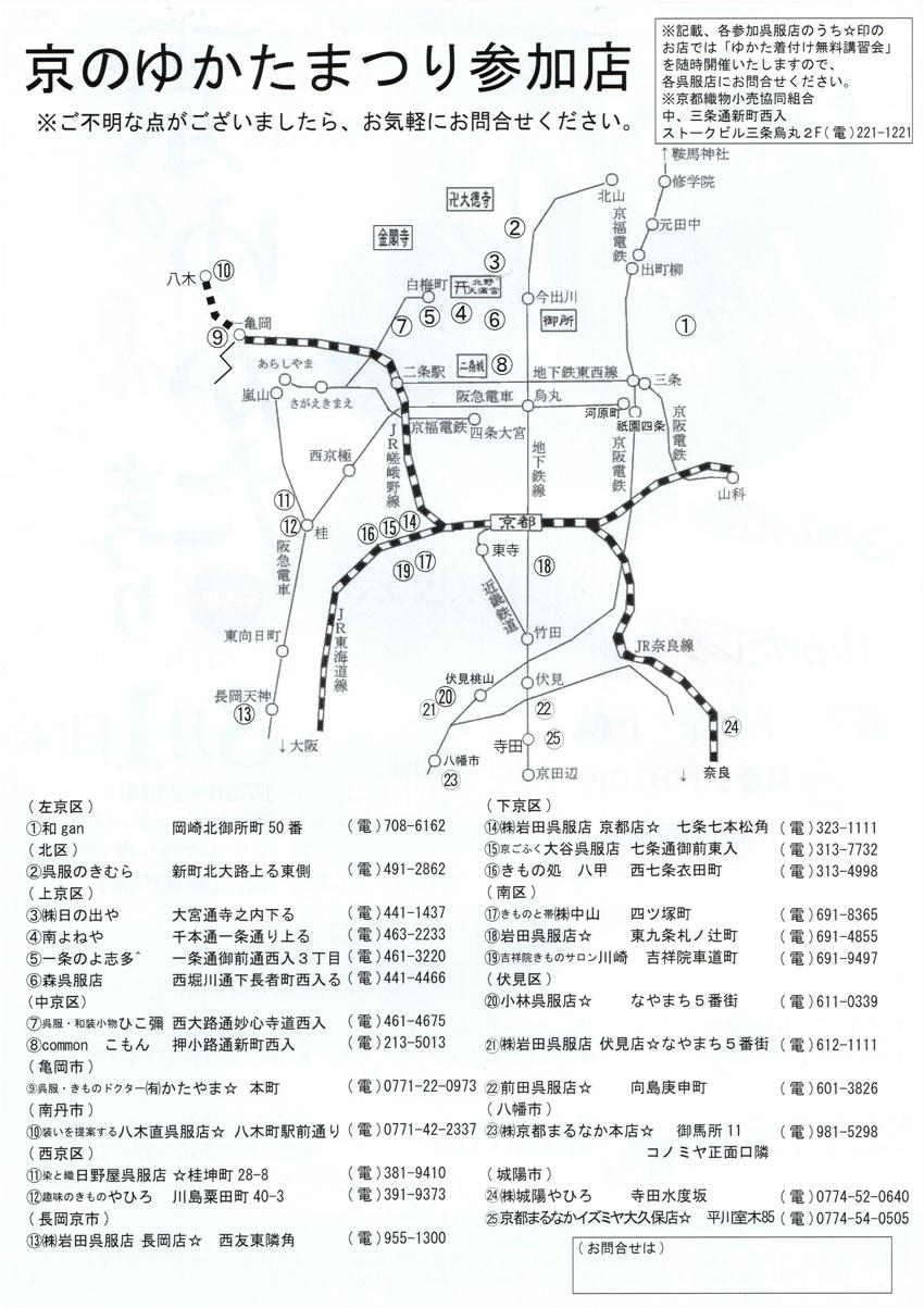 京のゆかたまつり2019(浴衣祭り)