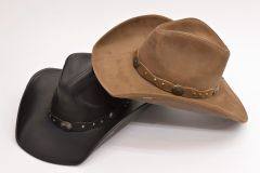 STETSON ステットソン 牛革レザー100%、Genuine Stetson Leather HAT、RODEO DR COLLECTION、カウボーイハット ST-906 aw-mi269